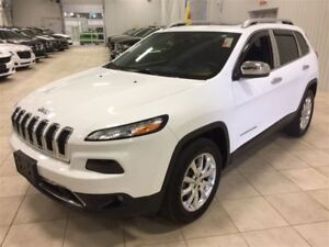 2014 Jeep Cherokee LIMITED *CUIR, TOIT PANO, 4X4*