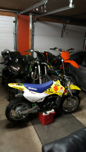 2005 Suzuki JR 80cc Dirt bike