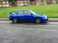 Subaru WRX TURBO MODIFIED 344 BHP NOT S3 gti evo Rx7 type r sti golf r vrs cupra Fq300 type r civic