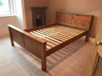 RESERVED Wooden Double Bed Frame £20