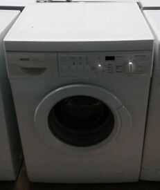 O168 white bosch 5kg 1200spin washing machine comes with warranty can be delivered or collected