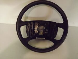 2008 Cadilac DTS HEATED STEERING WHEEL.