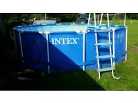 Intex 15 ft pool