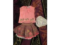 Beautiful John Lewis outfit age 3-6 months hardly worn