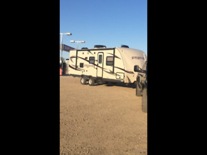Streamlite trailer for sale/trade for skid steer/acreage tractor