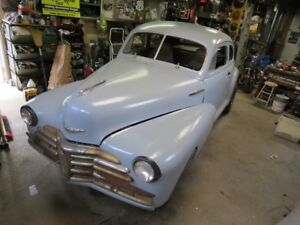 48 chevy coupe project