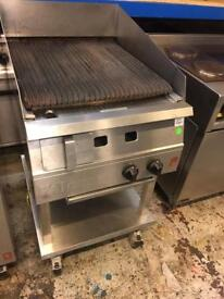 Falcon char grill for peri peri chicken with water tray Radiant grill, charcoal cafe equipment, wolf