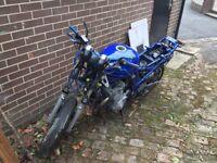 Breaking 2001 Suzuki bandit 600