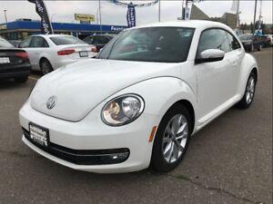2013 Volkswagen Beetle Highline 2.5L 6sp at w/ Tip
