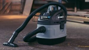 Powerful portable shop vacuum used once