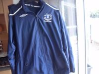 EVERTON FC / UMBRO WATERPROOF HOODED COAT SIZE 3XL PLUS OTHER XL STUFF