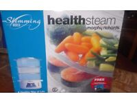 Morphy Richards Health Steamer- Unused
