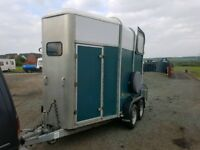 IFOR WILLIAMS HB505 Green Horse Box for sale