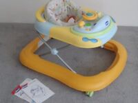 Baby Chicco DJ Walker & Toy Station
