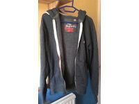 Superdry orange label hoodies mens (small)