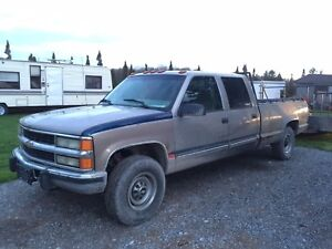 2000 Chevy Crew Cab 4X4 Diesel