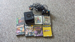 game cube system and 7 games