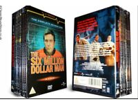 The Six Million Dollar Man DVD Box set.