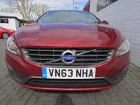 VOLVO V60 2.0 D3 SE 5d 134 BHP (red) 2014
