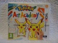 Pokemon Art Academy - Nintendo 3DS Game - * Brand New, Sealed * - UK Pal