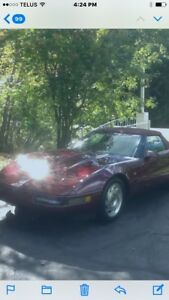 1993 - 40th anniversary corvette