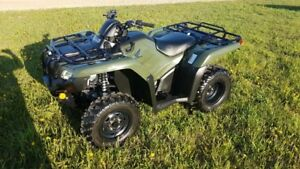 2015 Honda Fourtrax 420 with power steering