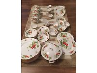 I have a queens china English fine bone china set around 60 pieseces for sale