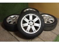 "Genuine Range Rover 19"" Alloy wheels 5x120 L322 Vogue Autobiography Land VW T5 Alloys"
