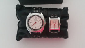 ROOTS His & Hers Watch Set