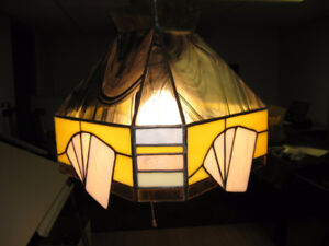Stained Glass Card Lamp
