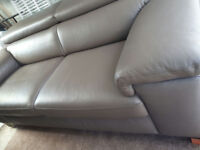 Stunning Leather Sofa