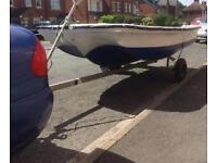 Dory 11 fishing boat Project. Bargain £150