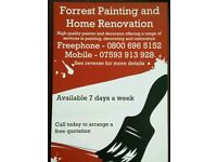 Forrest Painting and Home Renovation - Freephone - Painter and Decorator