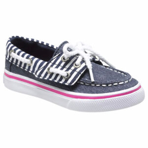 Sperry Girls' Bahama Jr Casual Shoe Size 6/8, New