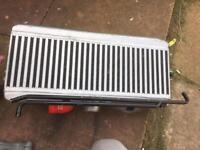 Subaru Impreza wrx sti. Top mount AVO intercooler