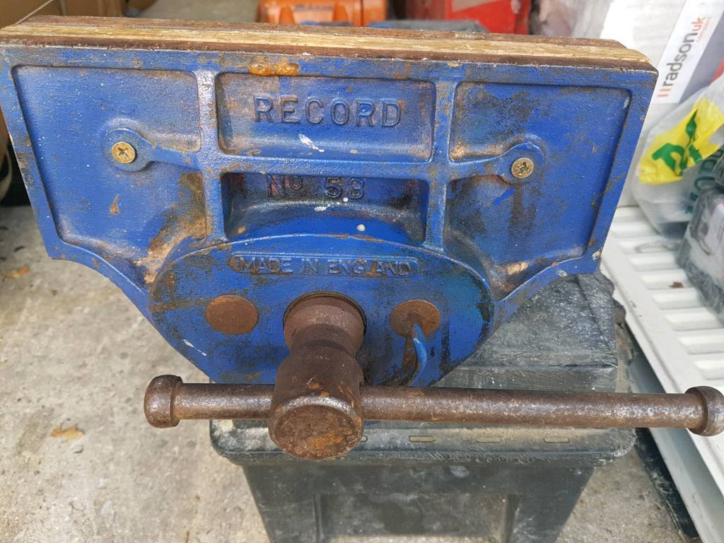 RECORD No 53 WOODWORK VICE