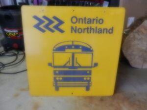 Ontario Northland sign