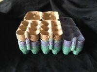 COLOURED EGG BOXES