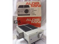 Aldis Mini compact Slide projector