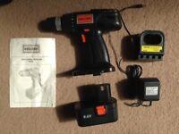 Challenge Cordless Drill Driver - 9.6 V ( BD4552 )