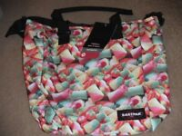 ( New with tag ) Eastpak Kaba Shopping Tote Shoulder Bag 22L - mmmmellow / marshmallow