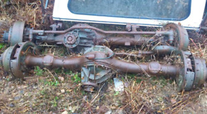 2 ton axles for mud truck
