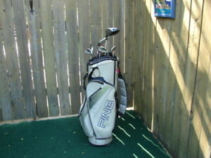 Men's Right Hand Ping golf clubs set
