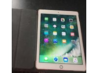Apple iPad Air 2 gold Cellular Network Free 16gb like new