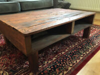 Coffee Table - Rustic, Sturdy, Locally Made