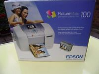 Epson PictureMate 100 Digital Photo InkJet Printer