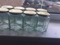 Jam jars- set of 15
