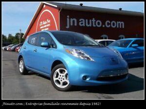 2014 Nissan Leaf SV 6.6 kw **EN TRANSIT** Recharge 110v,220v et