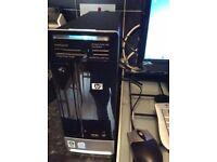 HP pavillion slimline P.C plus Samsung Samsung SyncMaster Monitor