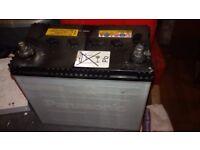 Panasonic 12v sujuki swift car Battery